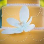 640_witte-bloem-decoratie-gele-bruidstaart